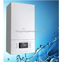 European style wall mounted gas boiler for radiator and floor heating