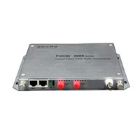 FOWAY800N node type two fiber ports digital video optical transmitter and receiver