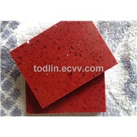 Fashion red quartz stone for kitchen countertop vanity top