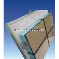 Fireproofing decorative panel