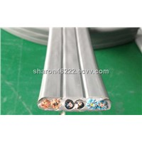 Flat Travelling Cable For Elevator-TVVBP 24*0.75+2*2p*0.75