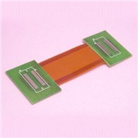 Flexible PCB with 1 oz Copper Conductor (Double Layer) Assembled with Rigid Board