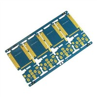 Four-layer PCB Board with Immersion Gold and FR4 Material, Measures 200 x 100mm