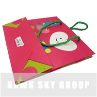 Gift packaging paper handle bags manufacturer/ OEM