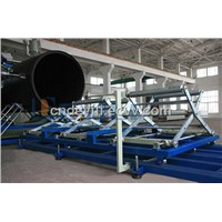 HDPE Large Diameter Winding Extrusion Pipe Production Line