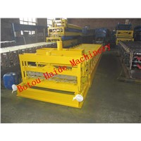 Haide 1100 glazed roll forming machine
