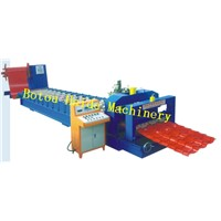 Haide 768 glazed tile roll forming machine