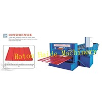 Haide type-900 roll forming machine