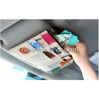 Hibo car visor organizer/car storage box HO0001