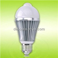 High Capacity 6W LED Bulb with Motion Sensor