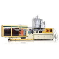 High-speed PET/PP preform injection molding machine