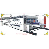 High speed flexo cartons forming,slotting and printing machine