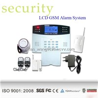 Home Automation Kits Wireless GSM House Safety Alarm System with Door Sensors