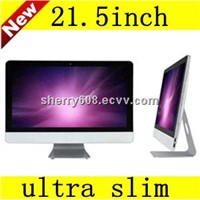 Hot Selling. Utra Slim. 21.5inch Desktop Computer, All in One PC. with G1610CPU. 4GB RAM. 500GB HDD
