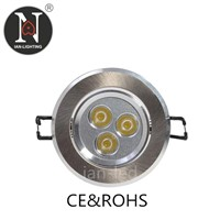 IAN C3206-3W LED Ceiling light/ Down light / Recess light/ Pop Light/spot light