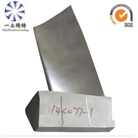 Inconel 738LC investment vacuum casting turbine blade used for gas turbine