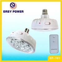 LED LAMP WITH REMOTE CONTROL