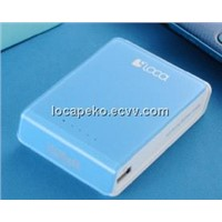 LOCA Pudding 10400mAh power bank for Mobile Phone-Blue