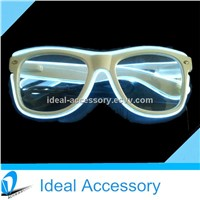 Led El Luminescent Wire Eyewear Sunglasses/Glasses For Parties/Promotional with optical Frames