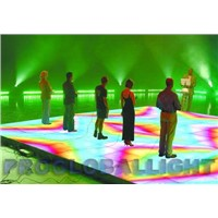 Led flash dance floor