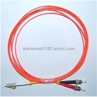 Life Time Warranty ST/LC Duplex MM Fiber Optic Cable