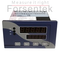 Load cell indicator weighing display