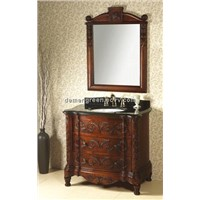 Low price MDF lacquer bathroom cabinet