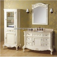MDF pvc coating bathroom cabinet