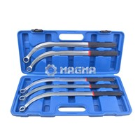 (MG50635)5 Pcs Damper Pulley Puller Wrench Set