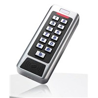 ML-S02MC  Waterproof Metal Keypad Standalone Access Control, CPU+Mifare card reading available