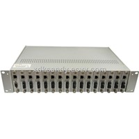 Media Converter Rack Chassis/fiber optic converter