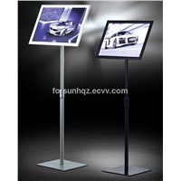 Menu Display Stand with Square bottom base