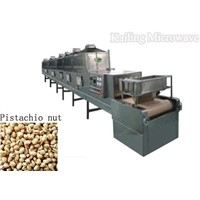 Microwave Baking and Drying Machine for pistachio nut