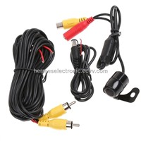 Mini Car Rear View reversing Backup Waterproof CMOS Parking Camera Wide Angle