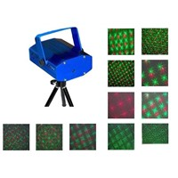Mini Red & Green Moving Party Laser light Stage Light Twinkle Disco DJ Party Light With Tripod