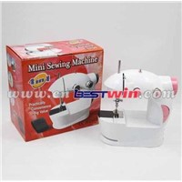 Mini Sewing Machine With Foot Pedal/Portable Sewing Machine 4 in 1