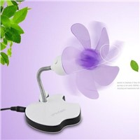 Mini USB Fan Portable apple fan computer fan laptop fan pc fan white pink blue colors