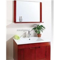 Modern Wall Hang Bathroom Vanity with Mirror