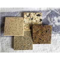 Multi color Artificial stone quartz countertop and table top