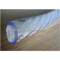 Multi-core plastic optical fiber cable