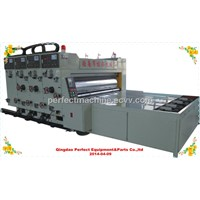 Multifuction water based corrugated board printing machine