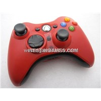 New Wireless Controller Without Packing Red for XBOX360 Slim (Refurbished)