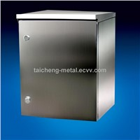 Nice Satin stainless steel IP 65 distribution box