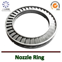 Nickel based alloy casting nozzle ring used for locomotive turbocharger