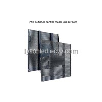 P18 Outdoor Mesh LED Display For Rental