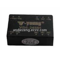 5W dc dc converters with 5V,12V output, 500Vdc isolation