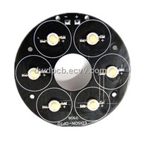 PCBs for LED lights, single-sided,