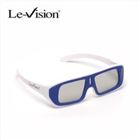 Passive polarized 3D glasses