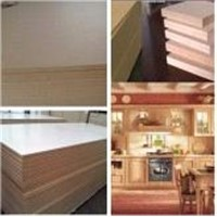 Plain MDF & Melamine MDF for Furniture or Decoration