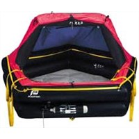 Plastimo Offshore+ Life Raft, 4 Person, Canister